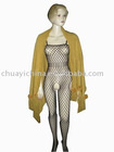 ladies' beautiful sexy bodystocking / fishnet body stocking