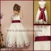 2010 A-line Sleeveless flower girl dress FG-042