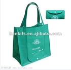 fodable non woven fabric recycle and shopping bag