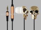 Death's-head earphone