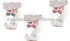 baby knee high socks/kids socks wholesale/kids white socks 100% cotton/kids long socksgirls wearing socks /girls wearing socks