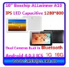 Hot 10.1inch IPS tablet 1280*800 Bluetooth dual camera Allwinner A10 1.5GHZ 1G 16G Gpad