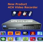Hot Selling 4CH H.264 Standalone DVR, RT-7004V