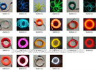 EL flashing wire for decoration with long life time with many colors for selection