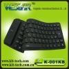 Flexible slicon soft keyboard