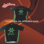 custom sublimation cycling wear with 100%polyester