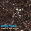 Chinese Dark Emperador Composite Tile with Marble Tile Surface & Ceramic Tile Base 600x600