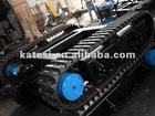 High Quality Daewoo excavator/bulldozer/loader/grader undercarriage part with rubber track