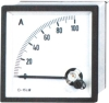 Panel meter, analog meter 96, 72, 48series Moving Coil Instruments With Rectifier AC Ammeter