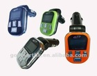 Car MP3 player with FM radio and TF card