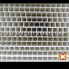 WHITE PLASTIC HOLLOW PROFILE SHEET/BOARD