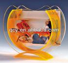 plexiglass acrylic fish bowl
