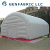 Portable inflatable buildings