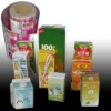 Aseptic package material