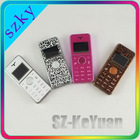 Color Desgin Smallest size mini cell mobile phone