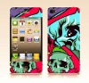 skull Front/ Back Screen Protector for 4s/4g