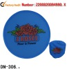 Colorful foldable frisbee with ocke (DN-306)
