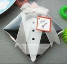 Bride and Groom Coaster Set