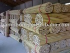 straight and dry factory directly natural bamboo poles