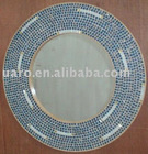 DIY hand made glass mosaic bathroom decor crafting mirror