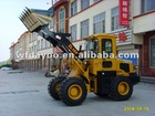 1.6 ton 1600kg ZL16 wheel loader this is a very stronger loader CE approved multifunctional , export to Europe
