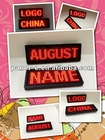 (Direct manufacter)Led name badge for hotel worker /KTV/Bar use ,waiters led name badge,Programmable LED Scrolling Name Tag
