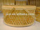 Chinese Custom bamboo tote basket in Grade A