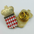 B495 lantern shaped metal lapel pin