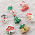 Low price fashion pretty resin clear plastic christmas ornaments