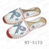 hemp rope slipper