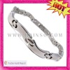 Irregular shape wholesale mens stainless steel bracelets jewelry