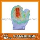 lace bath glove
