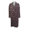 100% polyester lady's coral fleece bathrobe