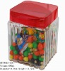 candy jar with lid