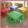 kids plastic table chair school furniture