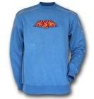 CVC60/40 plain hoody pullover