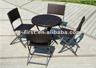 Copy cane chairs and tables leisure furniture