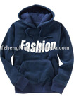 Men's long sleeves T/C french terry hooded sweatshirt