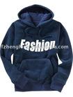 Men's long sleeves T/C french terry hooded sweatshirt