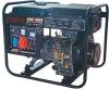 open frame or low noise soundproof 5KW diesel powered generator set