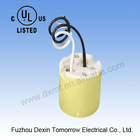 MT547-1 UL edison screw E39 brass ceramic lamp base outlet