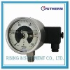 All stainless steel electric contact pressure gauge