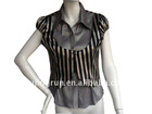 quality with jumper style lady blouse