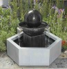 Plated Steel Garden Fountain