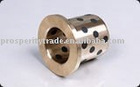 cast bronze flanged solid-lubricant inlaid bushing