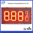 "12"" 8.889/10 Double Sided Red LED gas station signs for sale"