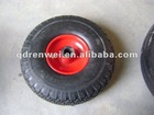 250mm rubber wheel 3.00-4 pneumatic wheel