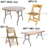 round table,wood folding table
