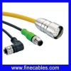IP67 waterproof molding type cable connector