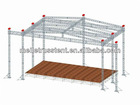 aluminum lighting stage concert truss for concert (aluminum 6061T6)